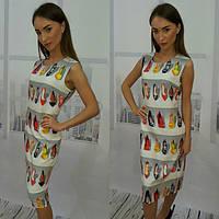 Женское яркое летнее платье ВФ-102
