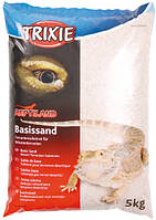 Песок белый для терруриума Trixie Basissand, 5 кг
