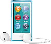 Мультимедийный портативный проигрыватель Apple iPod nano 7Gen 16Gb Blue (MD477)