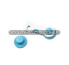 Защитный крючок от детей на дверцу (голубой)