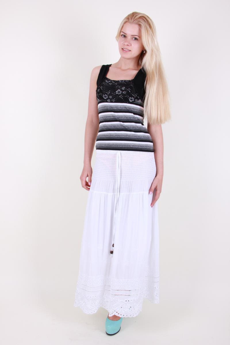 Нежная легкая летняя юбка.