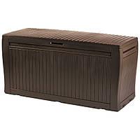 Ящик-сундук искуств. ротанг  Comfy 270 л коричневий