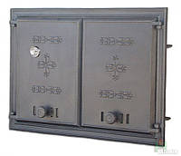 Дверка чугунная DCHР 2 с термометром