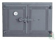 Дверка чугунная DCHР 5 с термометром