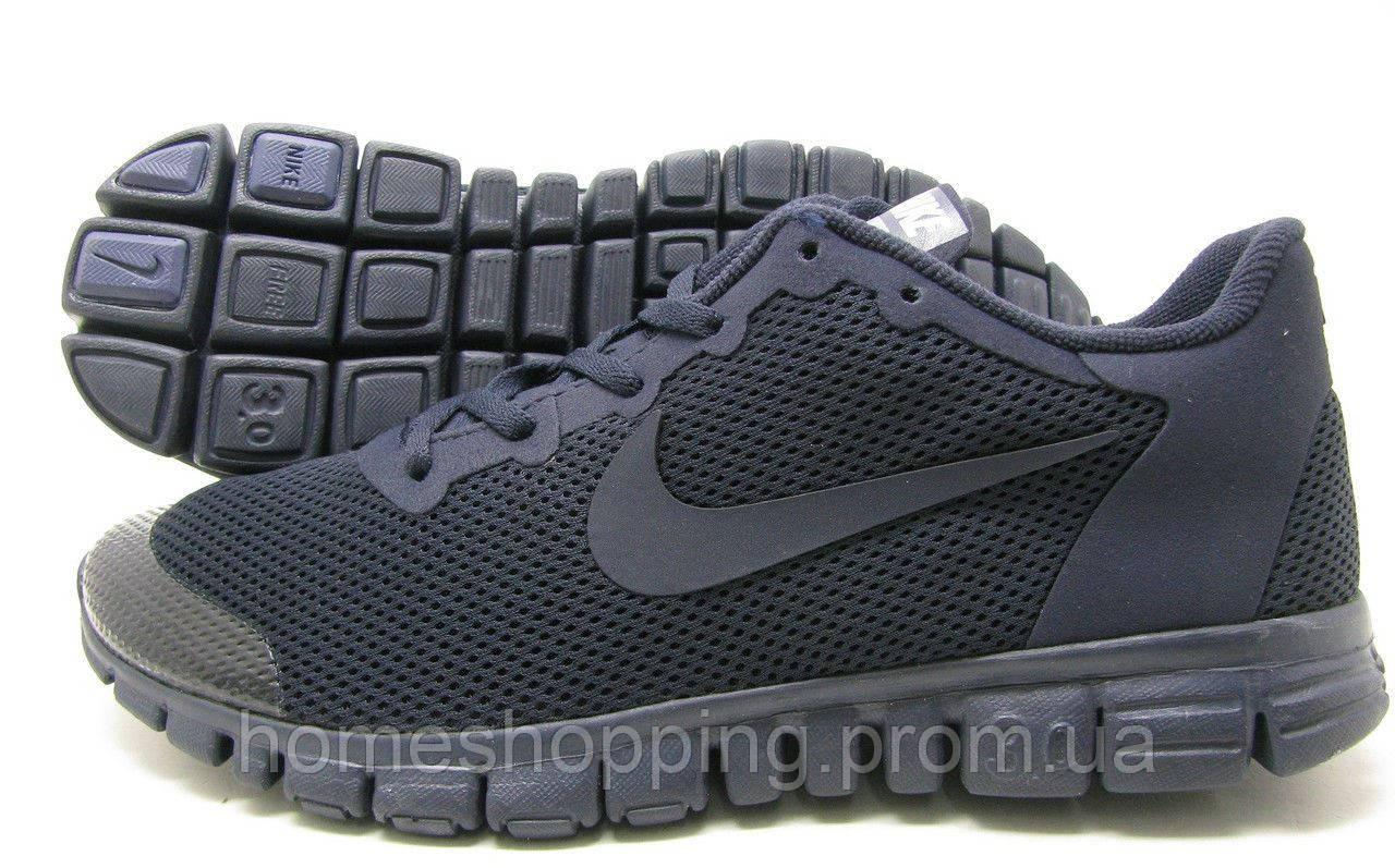 Кроссовки мужские Nike Free 3.0 V2 Black черные17