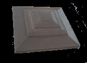 Крышка для кирпичного забора «Восточный стиль» 300х300, 450×450 мм