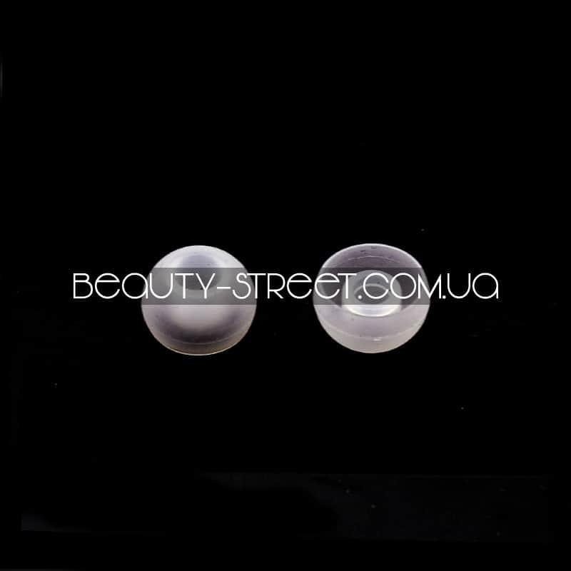 Накладки на вакуумные наушники Apple&Sam - прозрачные