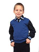 Жилет для мальчика трикотажный  М-966  рост 122-152, фото 1