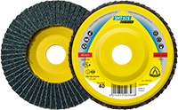 Шлифовальный круг лепестковый smt925 125 p 0 specia Klingspor