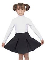 Юбка детская школьная м-1004 рост 122 128 134 140 146 152 и 158 черная, фото 1