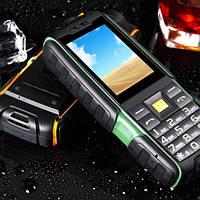 Защищенный телефон Land Rover X6000 Black (АКБ 6000 мАч)