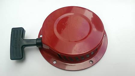Стартер ручной (в сборе) м/б, бензогенератора 168F/170F (6,5/7Hp, D-150mm) (металлический), фото 2