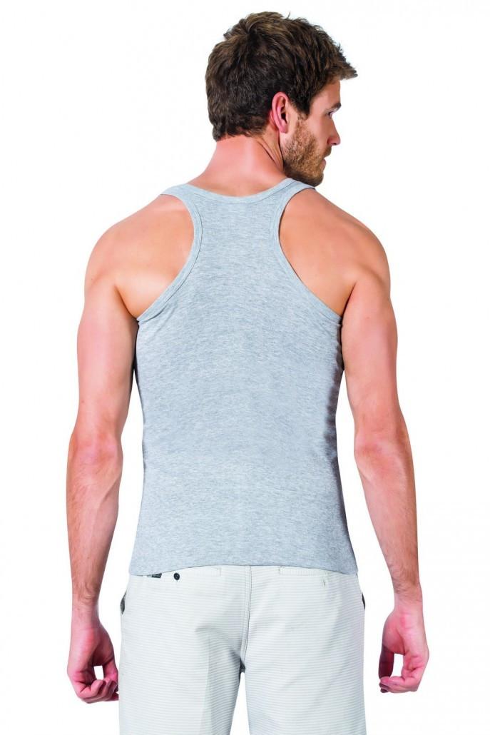 792275c32509 Майка мужская серого цвета (борцовка), цена 145 грн., купить в ...