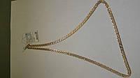 Золотая цепь 585 пробы, плетение рембо, 55 см