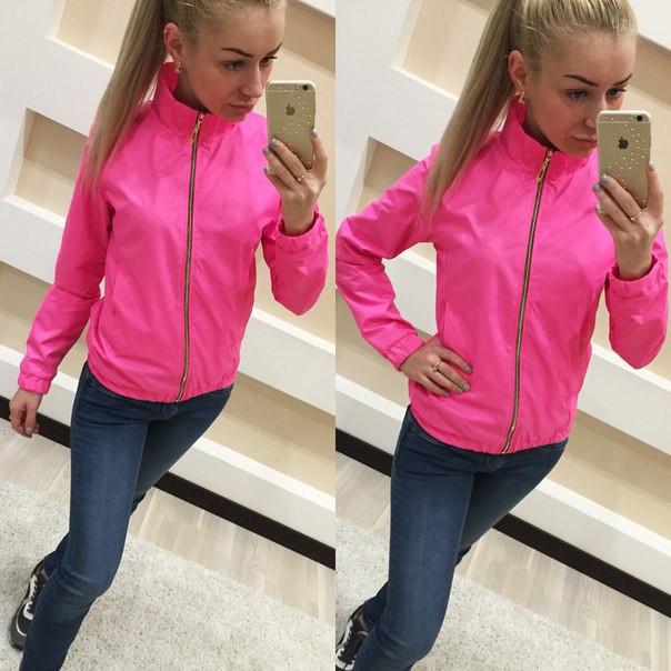 4f2c0760d8c1 Женская лёгкая куртка ветровка — купить недорого в Харькове в ...