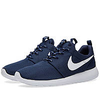 "Кроссовки Nike Roshe Run ""Dark Blue"" (Копия ААА+), фото 1"