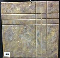 Формы для тротуарной плитки «Окно» глянцевые пластиковые АБС ABS