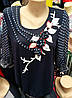 Красивая блуза с шифоновым рукавом