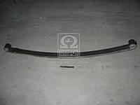 Рессора передняя ГАЗ 3302 2-листовая с укороченным ухом 1566 мм с сайлентблоки (Чусовая). 3302-2902010-12 ук с