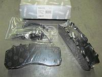 Колодки тормозные дисковые (компл. на ось) BPW, DAF XF95, IVECO, MB ACTROS, SAF, SCANIA (RIDER)