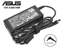 Блок питания для ноутбука зарядное устройство Asus К40 К50 К52 X50 (19V 3.42A 65w 5.5*2.5)