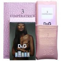 Мини парфюм 20 мл в кожаном чехле D@G Imperatrice 3