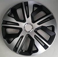 Колпаки Jestic Raven Ring Mix Black Silver R14 (к-кт 4 шт.)