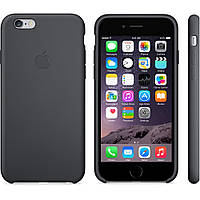 Original Silicone Case for iPhone 6/6S Black, фото 1