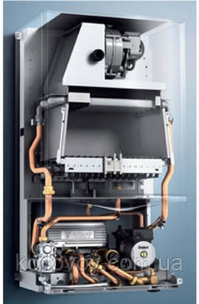 Дымоходный двухконтурный газовый котел Vaillant atmoTEC pro  , фото 2