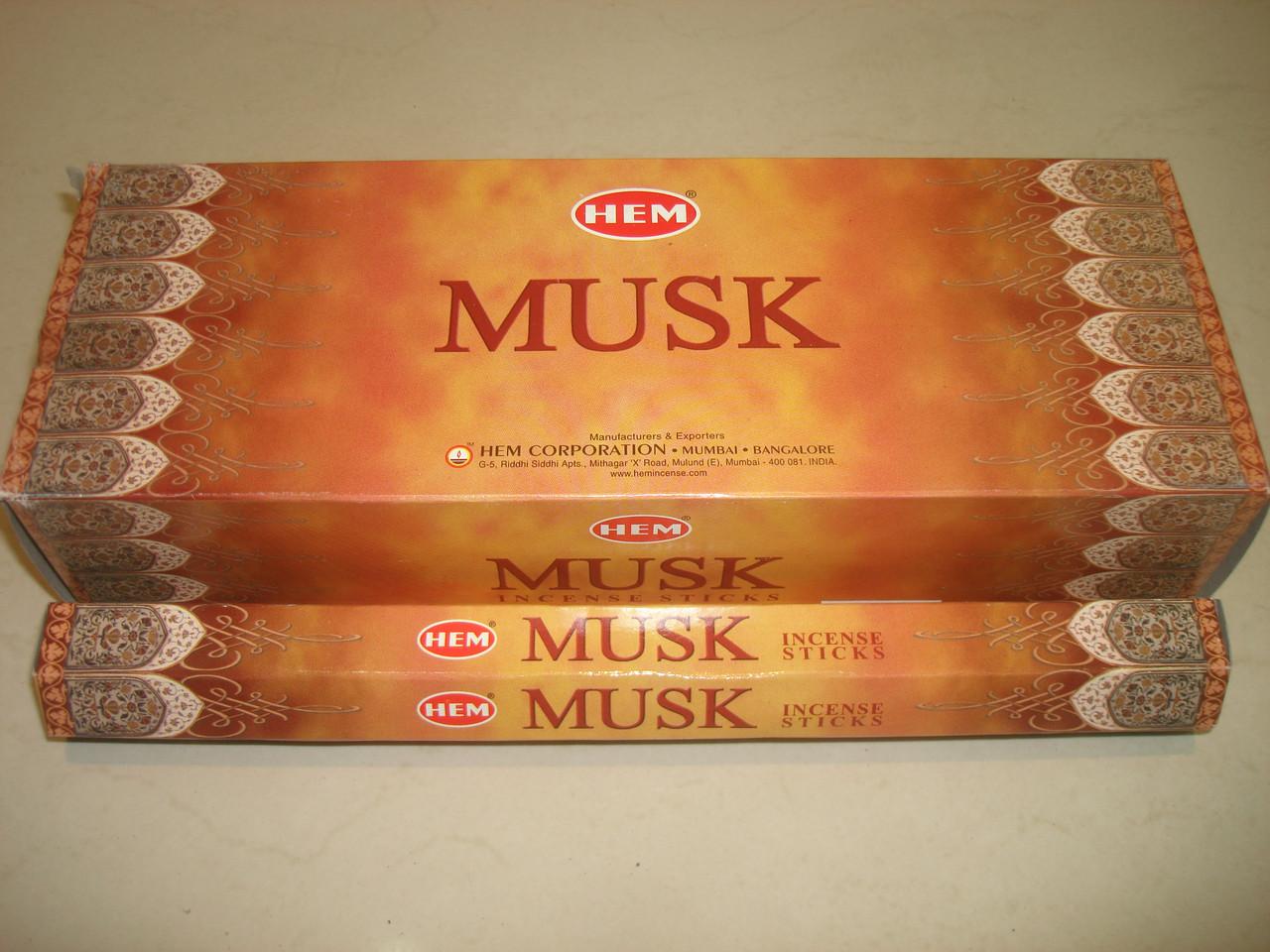 """Благовония """"Musk"""" (HEM)"""