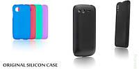 Original Silicon Case Samsung J120 (J1-2016) Black