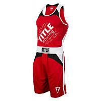 Комплект боксерской формы TITLE Elite Amateur Boxing Set 10. Детский