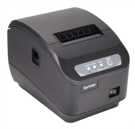 Чековый принтер с автообрезкой Xprinter XP-Q200II 80мм USB, COM интерфейс подключения