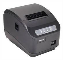 Чековий принтер з автообрезкой Xprinter XP-Q200II 80мм USB, COM інтерфейс підключення