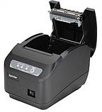 Чековий принтер Xprinter XP-Q200II 80мм LAN інтерфейс з автообрізкою, фото 2