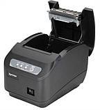 Чековый принтер с автообрезкой Xprinter XP-Q200II 80мм USB, COM интерфейс подключения, фото 2