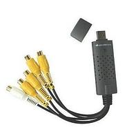 Easy cap 4ch поможет сделать из вашего компьютера полноценный видеорегистратор на четыре камеры