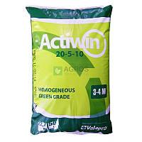 Комплексное минеральное удобрение Actiwin (Активин) 20.5.10+ME, Весна-Лето, 3-4 мес., Valagro, 22.7кг,