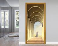 Виниловые фотообои и наклейки на двери с 3D эффектом. Фотоальбом на http://наклейки.pp.ua/