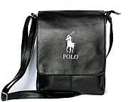 Мужская стильная сумка через плечо Polo формат А4