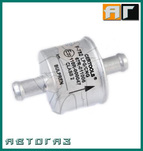 Фильтр летучей фазы ГБО Certools F-782 bulpren 2x11.