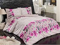 Комплект постельного белья ARYA (Турция) ранфорс  1,5Сп. (160х230) Rose 1001695