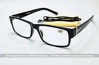 Очки для зрения +2,0 или +4.0. На лицо больше среднего