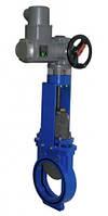 Задвижка шиберная ду250 Jafar с электроприводом AUMA SA 07.6