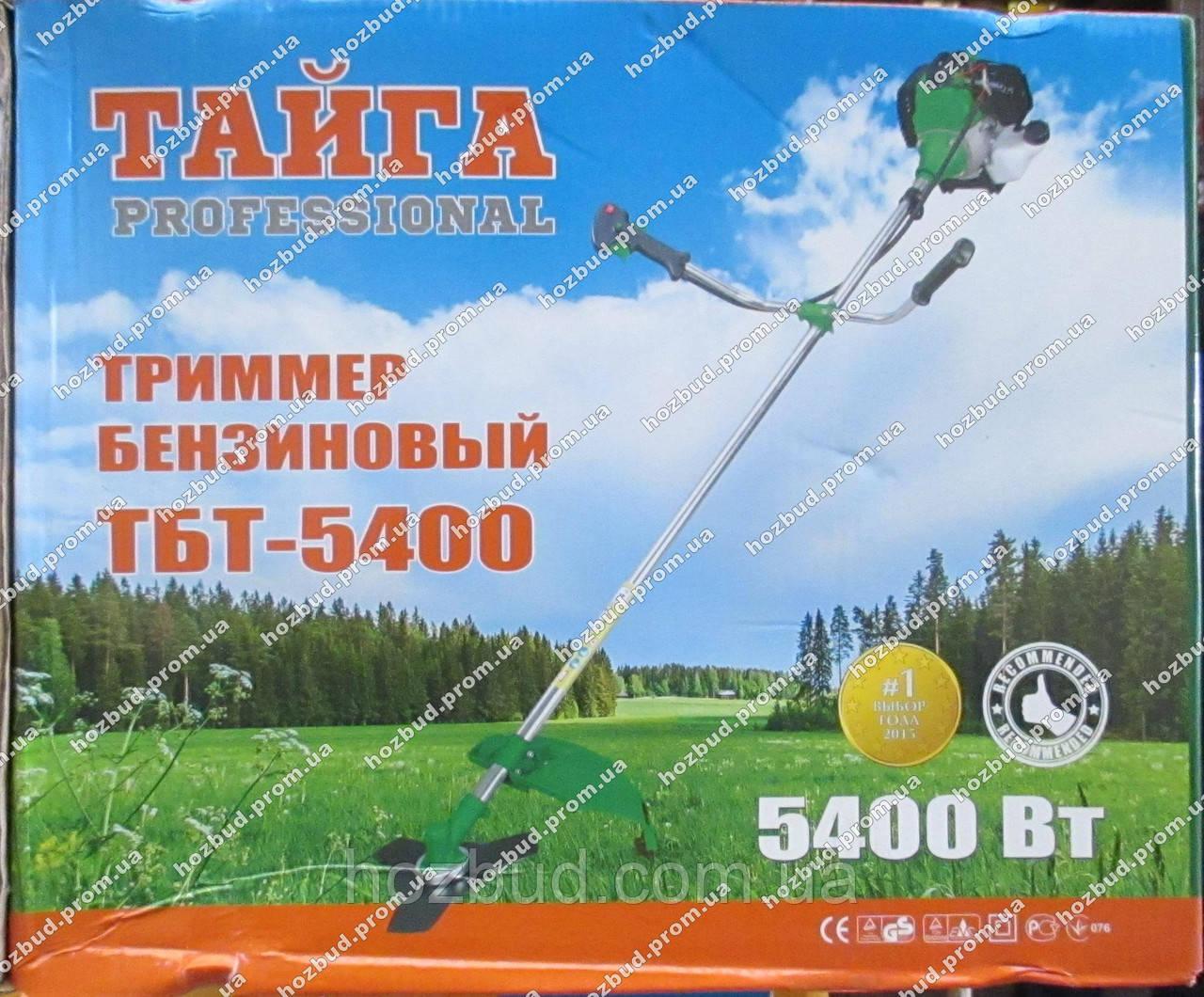 Бензокоса Тайга ТБТ-5400
