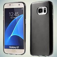 Чехол Original Silicon Matte Samsung Galaxy S7 G930 Black