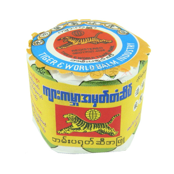 Мазь-бальзам Бирманский тигр (Мьянма Бальзам), 17 гр.