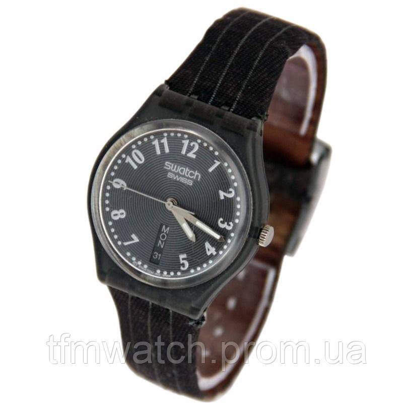 Swatch кварцевые швейцарские часы