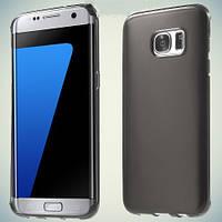 Чехол Original Silicon Matte Samsung Galaxy S7 Edge G935 Black