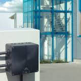 Розподільча коробка, вуличне встановлення, з клемою Abox-i 060 - 6²/sw